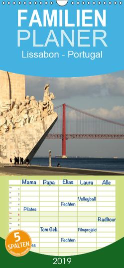 Lissabon – Portugal – Familienplaner hoch (Wandkalender 2019 , 21 cm x 45 cm, hoch) von Schickert,  Peter