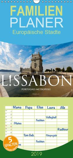 Lissabon – Portugals Metropole – Familienplaner hoch (Wandkalender 2019 , 21 cm x 45 cm, hoch) von Bruhn,  Olaf