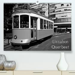 Lissabon Querbeet (Premium, hochwertiger DIN A2 Wandkalender 2020, Kunstdruck in Hochglanz) von Höfler,  Marion