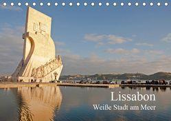 Lissabon – weiße Stadt am Meer (Tischkalender 2019 DIN A5 quer) von Paszkowsky,  Ingo