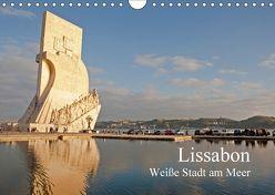 Lissabon – weiße Stadt am Meer (Wandkalender 2018 DIN A4 quer) von Paszkowsky,  Ingo
