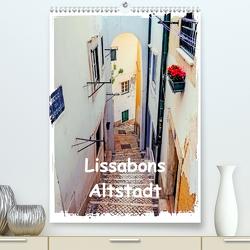 Lissabons Altstadt (Premium, hochwertiger DIN A2 Wandkalender 2020, Kunstdruck in Hochglanz) von Hampe,  Gabi