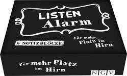 Listenalarm • Die Zettelbox für mehr Platz im Gehirn