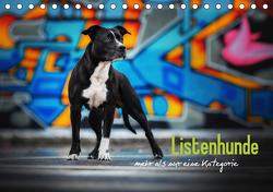Listenhunde – mehr als nur eine Kategorie (Tischkalender 2021 DIN A5 quer) von Wobith Photography,  Sabrina