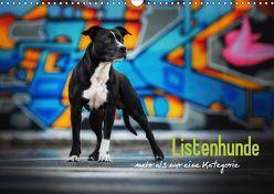 Listenhunde – mehr als nur eine Kategorie (Wandkalender 2019 DIN A3 quer) von Wobith Photography,  Sabrina