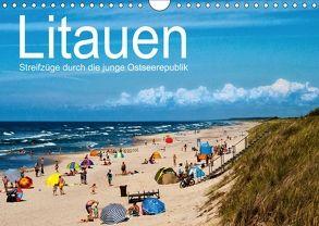 Litauen – Streifzüge durch die junge Ostseerepublik (Wandkalender 2018 DIN A4 quer) von Hallweger,  Christian