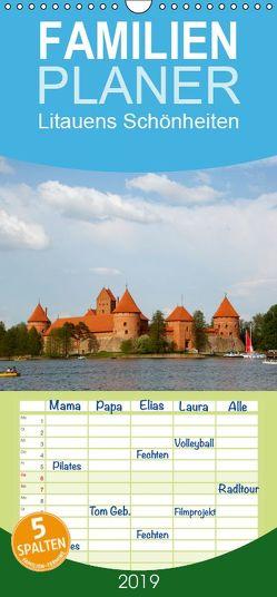 Litauens Schönheiten – Familienplaner hoch (Wandkalender 2019 , 21 cm x 45 cm, hoch) von N.,  N.