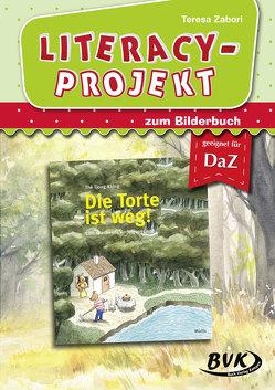 Literacy-Projekt zu Die Torte ist weg! von Zabori,  Teresa