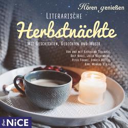 Literarische Herbstnächte von Fontane,  Theodor, Rilke,  Rainer Maria, Seyffert,  Sabine, Uhland,  Ludwig
