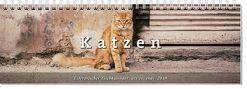 Literarischer Tischkalender Katzen 2019