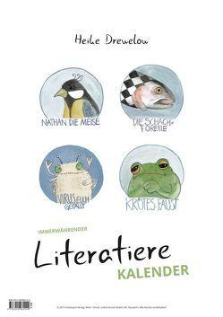 Literatiere Kalender von Drewelow,  Heike