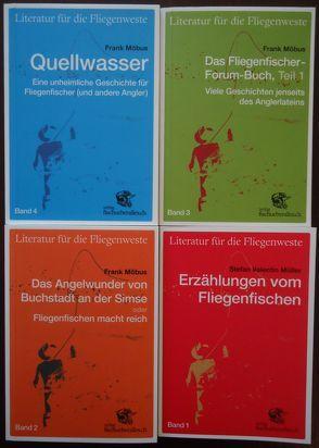 Literatur für die Fliegenweste, Band 1-4
