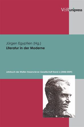 Literatur in der Moderne von Egyptien,  Jürgen