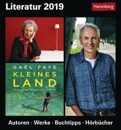 Literatur – Kalender 2019 von Anders,  Ulrike, Harenberg, Michel,  Dirk