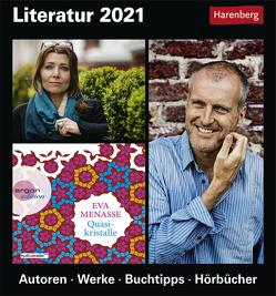 Literatur Kalender 2021 von Enxing,  Magnus, Harenberg, Lotz,  Brigitte, Michel,  Dirk