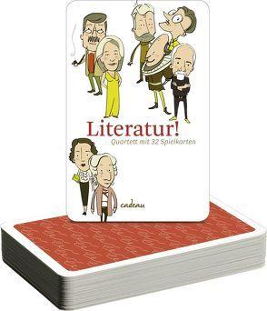 Literatur! Quartett von Mahrenholtz,  Katharina, Parisi,  Dawn