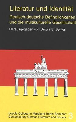Literatur und Identität von Beitter,  Ursula E.