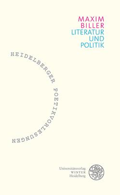 Literatur und Politik von Biller,  Maxim