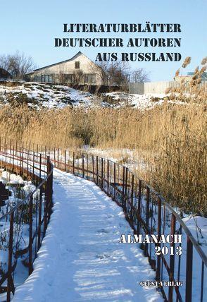 Literaturblätter der Deutschen aus Russland von Böpple,  Artur