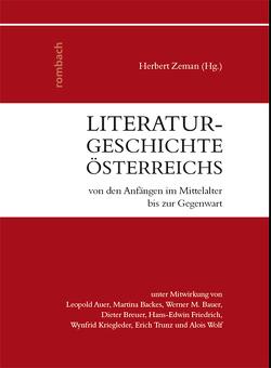 Literaturgeschichte Österreichs von den Anfängen im Mittelalter bis zur Gegenwart von Zeman,  Herbert