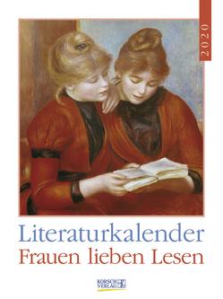 Literaturkalender Frauen lieben Lesen 2020 von Korsch Verlag