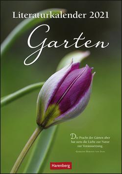 Literaturkalender Garten Kalender 2021 von Harenberg
