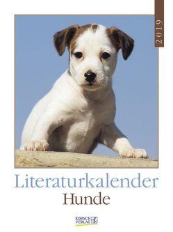 Literaturkalender Hunde 2019 von Korsch Verlag, Stuewer,  Sabine