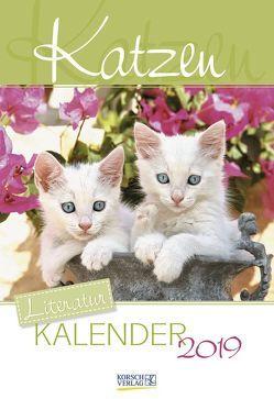 Literaturkalender Katzen 2019 von Korsch Verlag