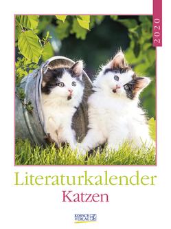 Literaturkalender Katzen 2020 von Korsch Verlag