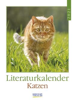 Literaturkalender Katzen 2021 von Korsch Verlag