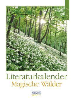 Literaturkalender Magische Wälder 2019 von Korsch Verlag