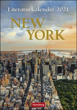 Literaturkalender New York Kalender 2021 von Goth,  Maik, Harenberg