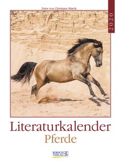 Literaturkalender Pferde 2020 von Korsch Verlag, Slawik,  Christiane