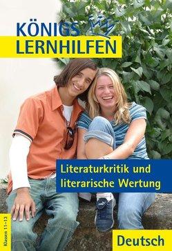 Literaturkritik und literarische Wertung von Pfohlmann,  Oliver
