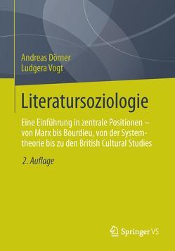 Literatursoziologie von Dörner,  Andreas, Vogt,  Ludgera