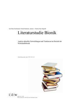 Literaturstudie Bionik von Ferdinand,  Jan-Peter, Gleich,  Arnim von, Petschow,  Ulrich, Seipold,  Peer