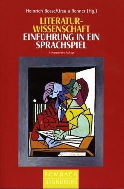 Literaturwissenschaft von Bosse,  Heinrich, Renner,  Ursula