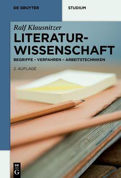 Literaturwissenschaft von Klausnitzer,  Ralf