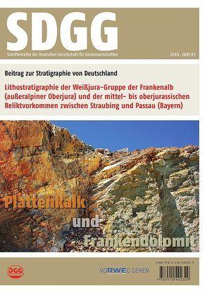 Lithostratigraphie der Weißjura-Gruppe der Frankenalb (außeralpiner Oberjura) und der mittel- bis oberjurassischen Reliktvorkommen zwischen Straubing und Passau (Bayern) von Niebuhr,  Birgit
