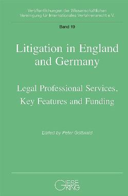 Litigation in England and Germany von Gottwald,  Peter