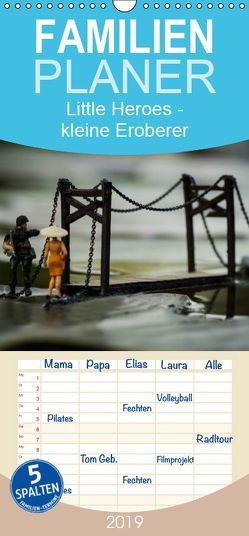 Little Heroes – kleine Eroberer – Familienplaner hoch (Wandkalender 2019 , 21 cm x 45 cm, hoch) von Konieczka,  Andreas