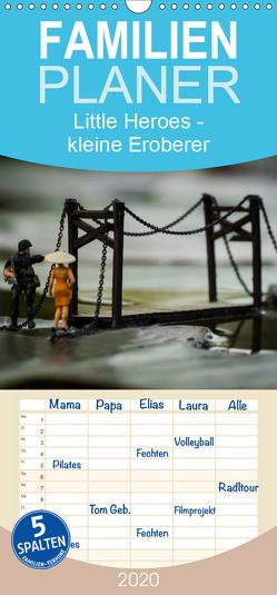 Little Heroes – kleine Eroberer – Familienplaner hoch (Wandkalender 2020 , 21 cm x 45 cm, hoch) von Konieczka,  Andreas