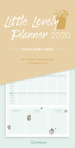 Little Lovely Planner 2020 Familienplaner
