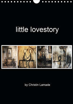 little lovestory (Wandkalender 2021 DIN A4 hoch) von Lamade,  Christin