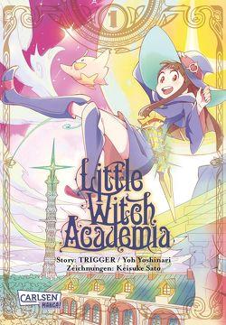 Little Witch Academia 1 von Sato,  Keisuke, Steggewentz,  Luise, Yoshinari,  Ryo
