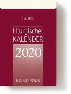 Liturgischer Kalender 2020 von Hurtz,  Klaus