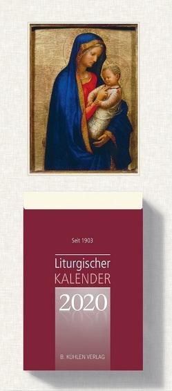 Liturgischer Kalender 2020 Großdruckausgabe von Hurtz,  Klaus