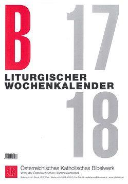 Liturgischer Wochenkalender LJ B 2017/2018