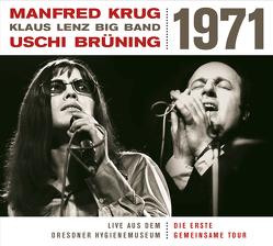 Live Aus Dem Dresdner Hygienemuseum 1971 von Manfred Krug Uschi Brüning Klaus Lenz Big Band,  Manfred