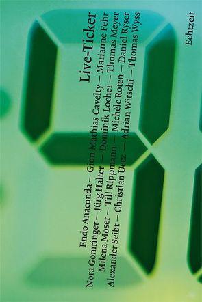 Live-Ticker von Anaconda,  Endo, Cavelty,  Gion Mathias, Fehr,  Marianne, Gomringer,  Nora, Halter,  Jürg, Locher,  Dominik, Meyer,  Thomas, Moser,  Milena, Rippmann,  Till, Roten,  Michèle, Ryser,  Daniel, Seibt,  Alexander, Uetz,  Christian, Witschi,  Adrian, Wyss,  Thomas